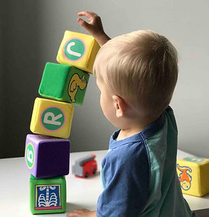A child going through Pediatric Occupational Therapy, Children's Occupational Therapy