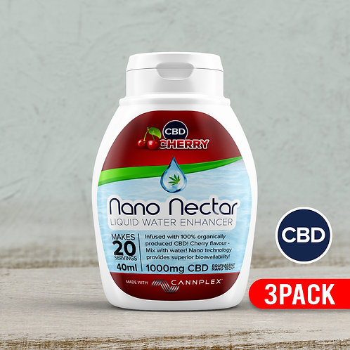 Cherry  Nano Nectar 3 Pack