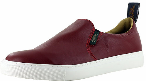 Men's Leather Slip On Boat Shoe - Style 682070