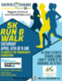 Copy of 5K Run  Walk Flyer - Made with P