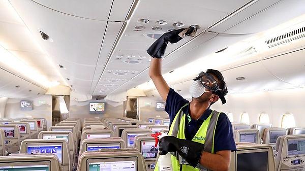 airline sanitation