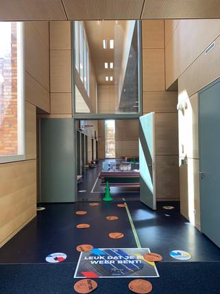MoveQ Lab Rotterdam indoor spaces