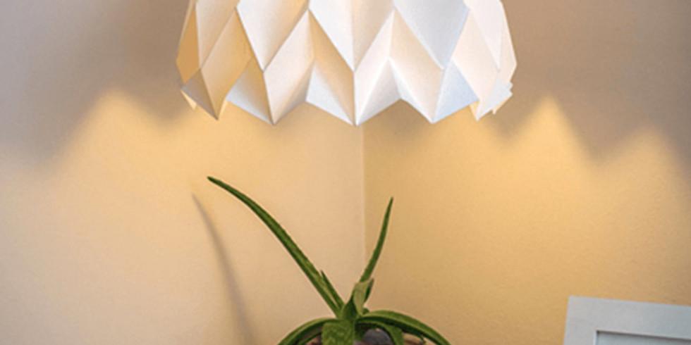 Taller Lamparas Origami (Horario PM)