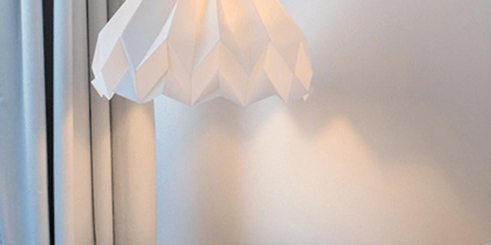 Taller lamparas Origami (Horario AM)
