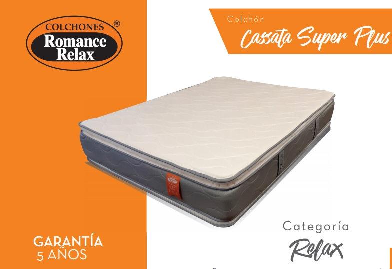 Colchón Cassata Super Plus