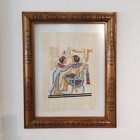 Cuadro De Papiro Egipcio