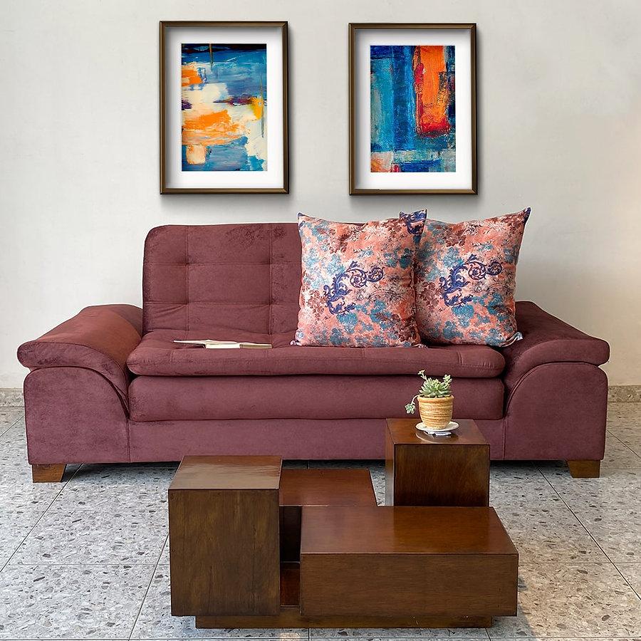 Foto Producto Sofá cama con mesa Olimpo-