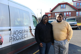 Every participant is offered the opportunity to get to work via the Joseph Project shuttles.