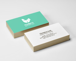 Modern Pet business cards