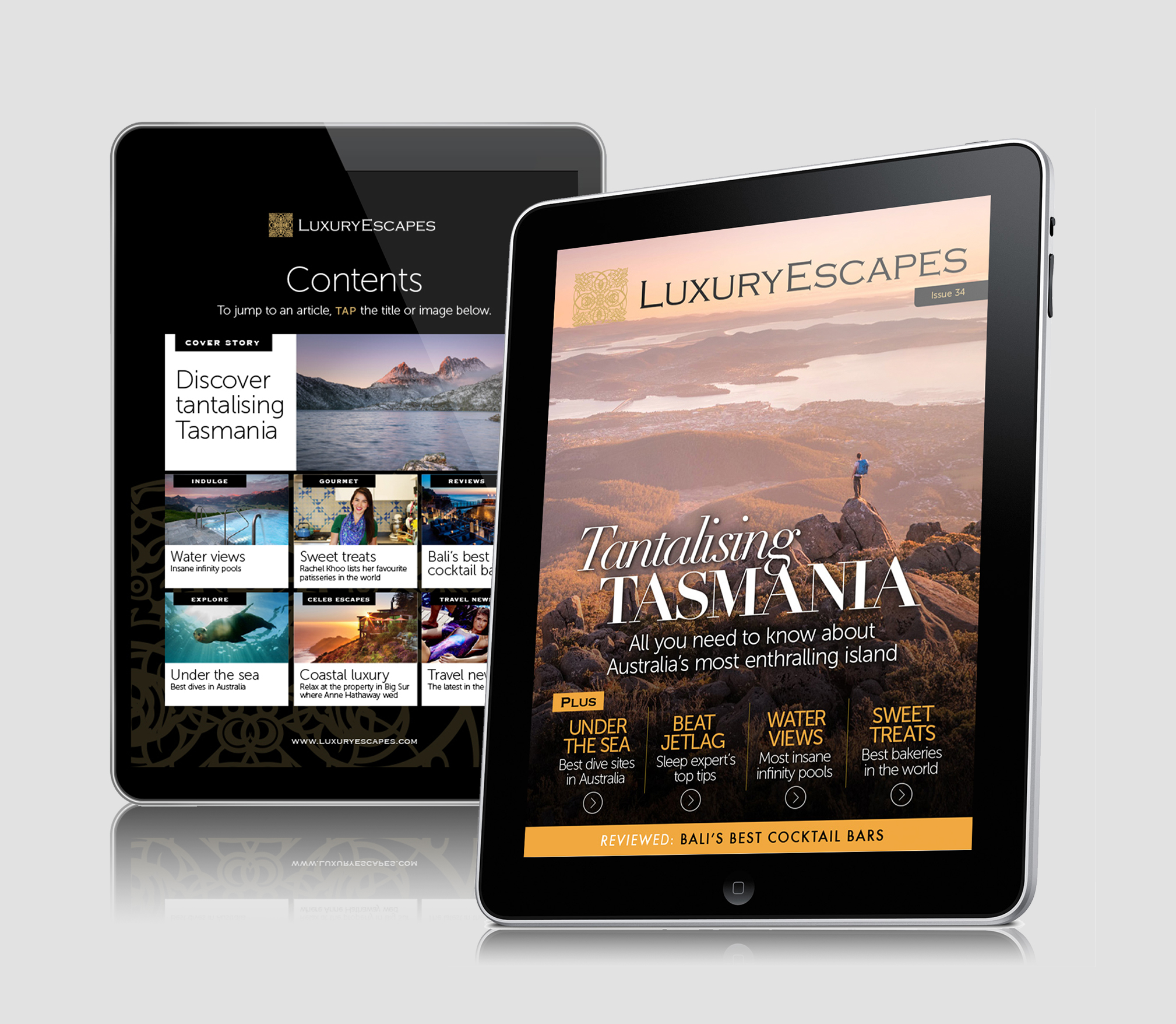 Luxury Escapes magazine