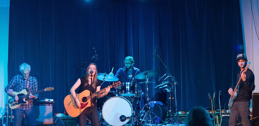 Megan Johns Band Live at The Wow Hall