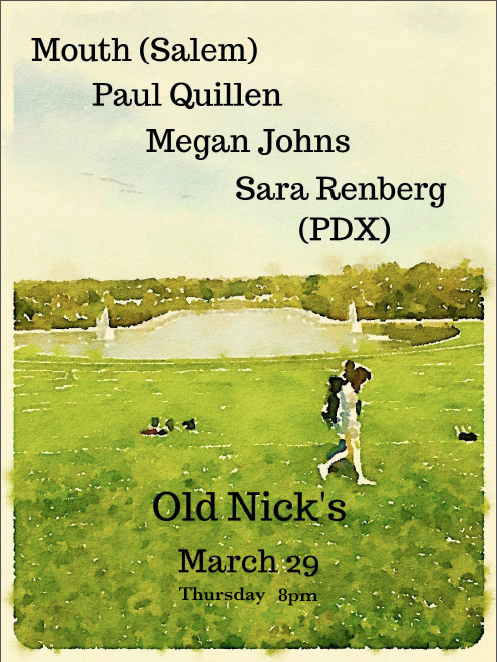 Old Nick's Show Poster 3/29/2018