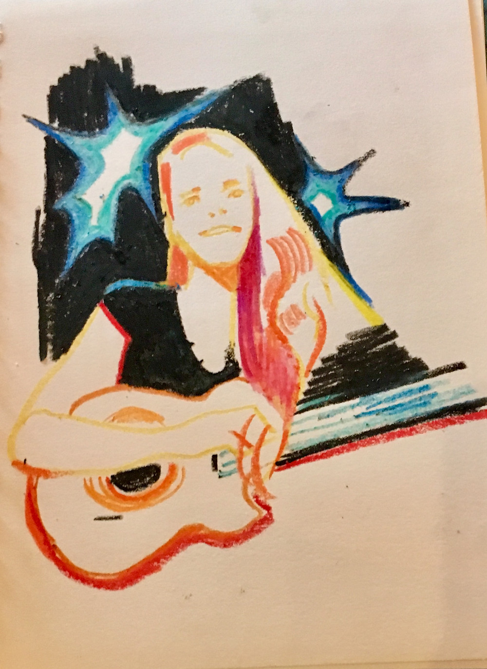 Megan Johns Live_Drawing by Anonymous Audience Member