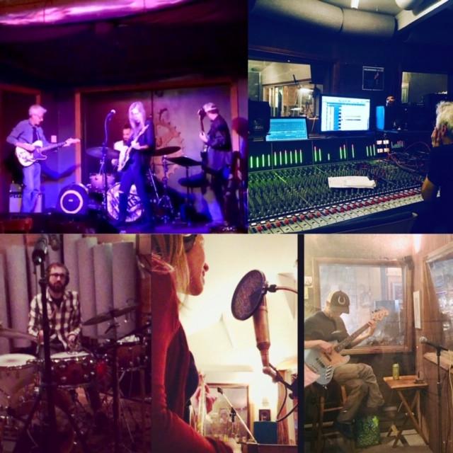 Megan Johns & Band at Gungho Recording Studio