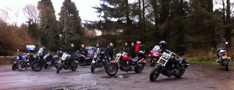 Fuel stop at Alston