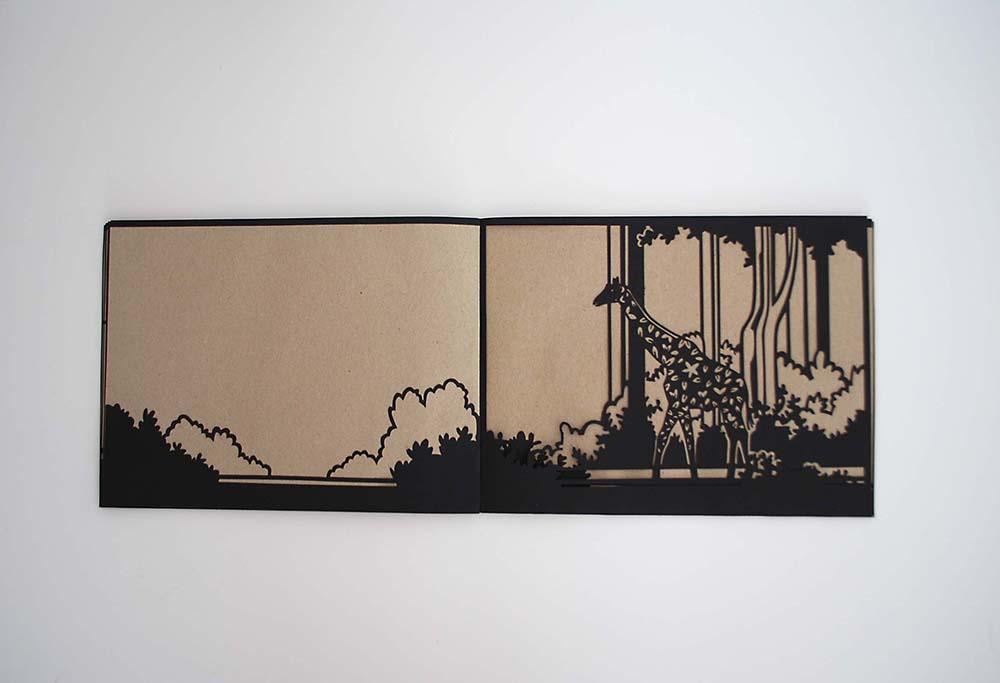 ARTIST BOOK OKAPI: WALDGIRAFFE