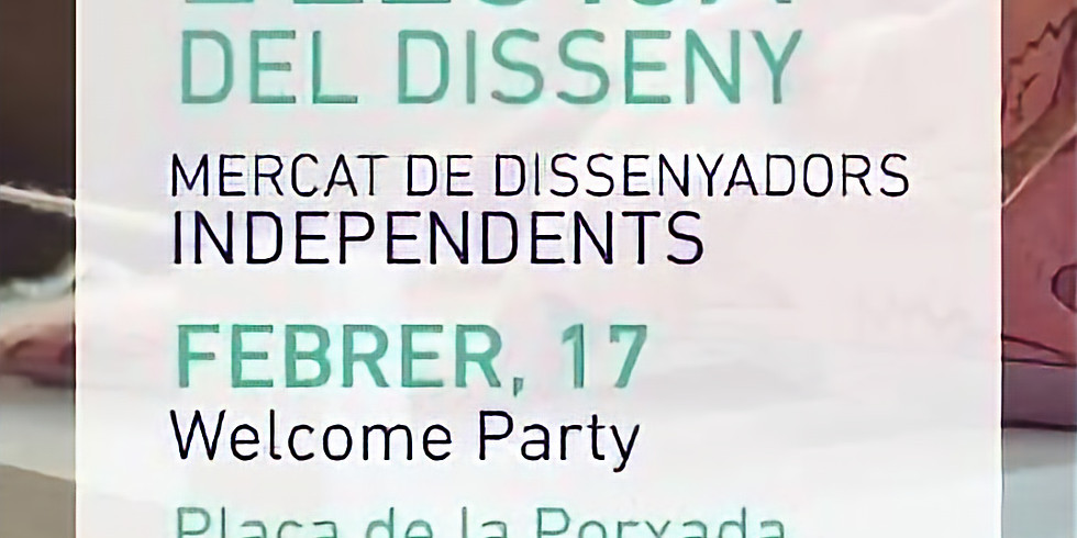 Welcome Party LA LLOTJA DEL DISSENY
