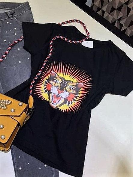 Camiseta Cabeza Tigre