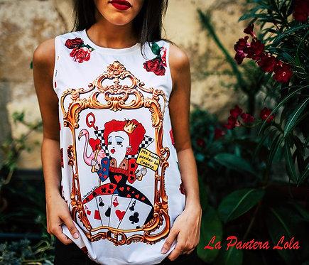 Camiseta  Cabeza Reina