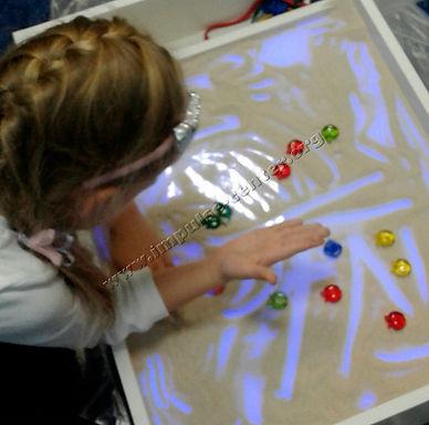 песочная терапия для детей занятия