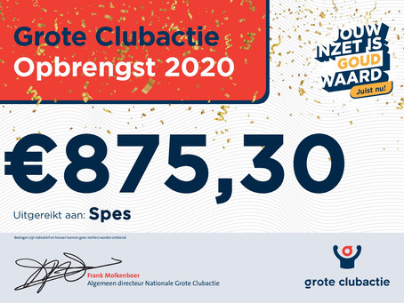 Grote Clubactie 2020