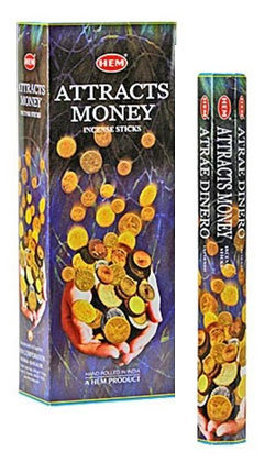 Attracts Money Incense