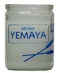 Yemaya Orisha Candle (50 hour)
