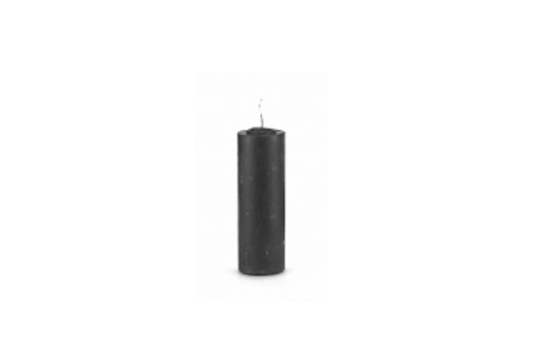 Pull Out/Refill Candle (Black)