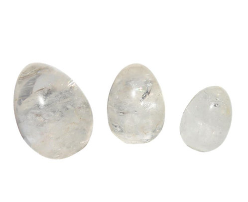Clear Quartz Yoni Egg
