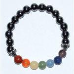 Chakra Hematite Gemstone Bracelet