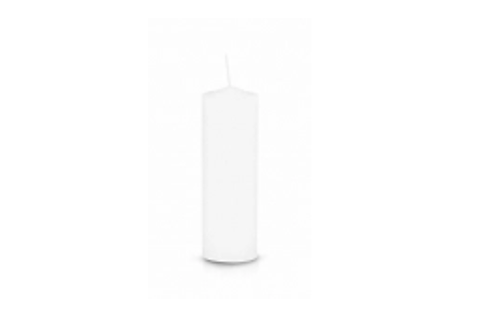 Pull Out/Refill Candle (White)