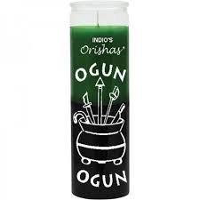 Ogun Orisha Candle (7 day)