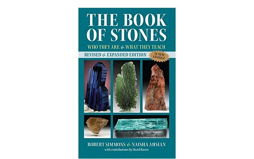 The Book of Stones by Robert Simmons & Naisha Ahsian