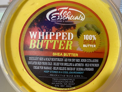 Tee Essentials Unscented Whipped Shea Butter