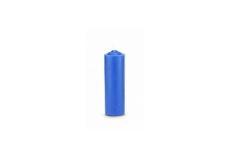 Pull Out/Refill Candle (Blue)
