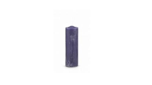 Pull Out/Refill Candle (Purple)