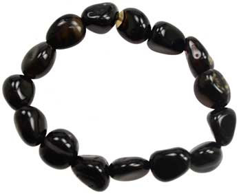 Black Tourmaline Gemstone Bracelet