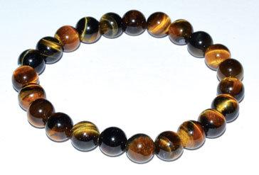 Tiger Eye Bracelet (8mm)
