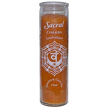 Sacral Chakra Candle (7 day)