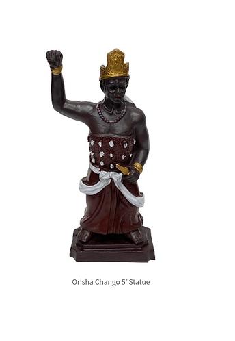 """Orisha Chango 5"""" Statue"""