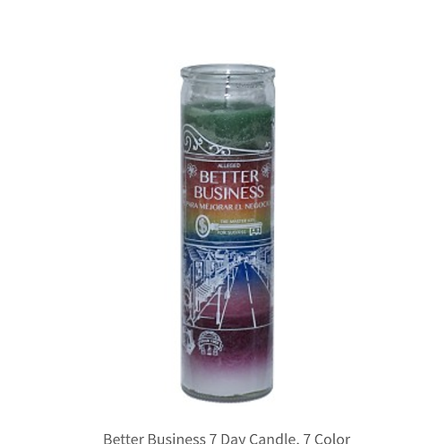 Better business candle (7 color) 7 day