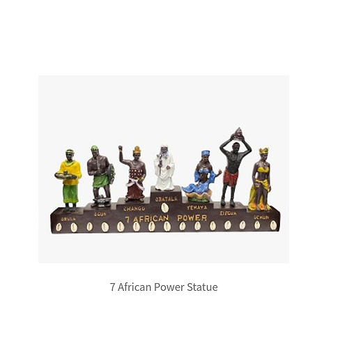 7 African Powers Statue
