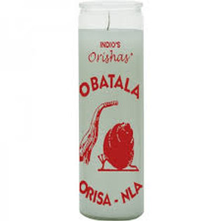 Obatala Orisha Candle (7 day)