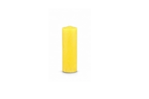 Pull Out/Refill Candle (Yellow)