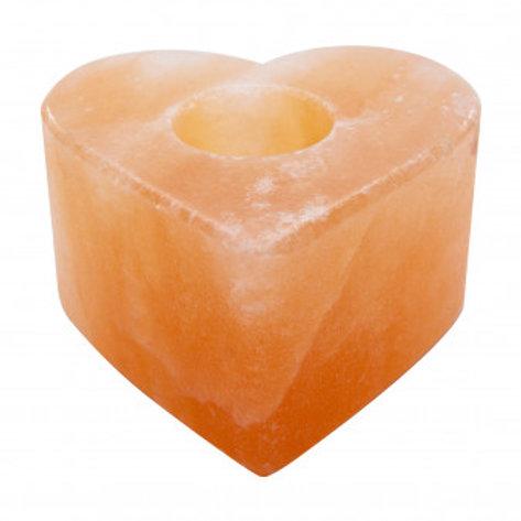 Himalayan Pink Salt Candle Holder (Heart)