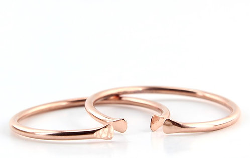 Copper Bangles (Set of 4)