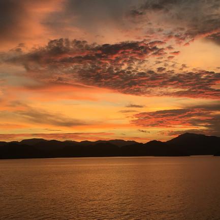 Playa Tambor Sunset