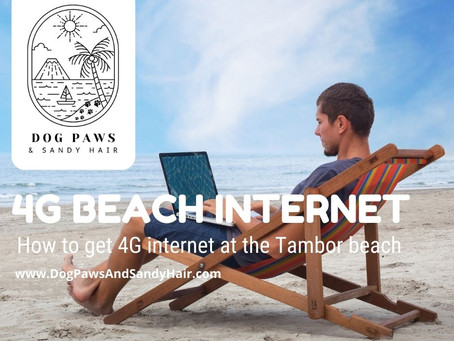 4G Internet At The Beach & How To Set It Up In Costa Rica.