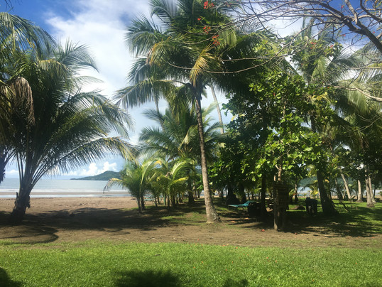 Beach Front Rancho With Pizza in Costa Rica