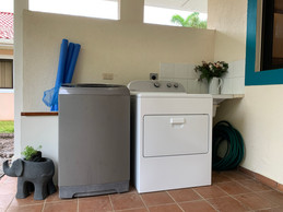Laundry -Washer & Dryer.